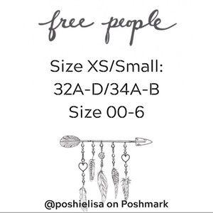 Free People Intimates & Sleepwear - LAST! Free People Bodysuit XS/S